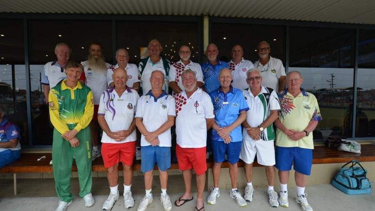Zone One Seniors (over 60's) Inter-Zone Squad