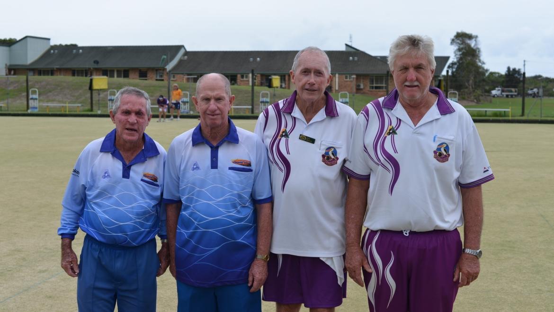 Tweed Byron Senior Pairs District Champions