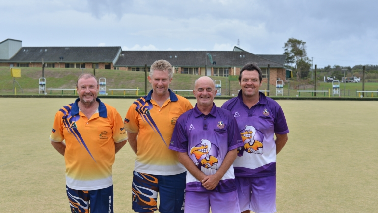 Tweed Byron's Open Pairs Champions 2020